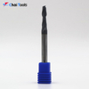 CLF2-D50H13L50 solid carbide end milling cutter