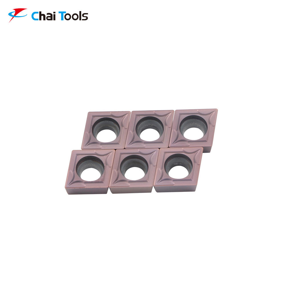 CCMT09T304-GM CT8225 CNC Tungsten Carbide turning insert for stainless steel machining
