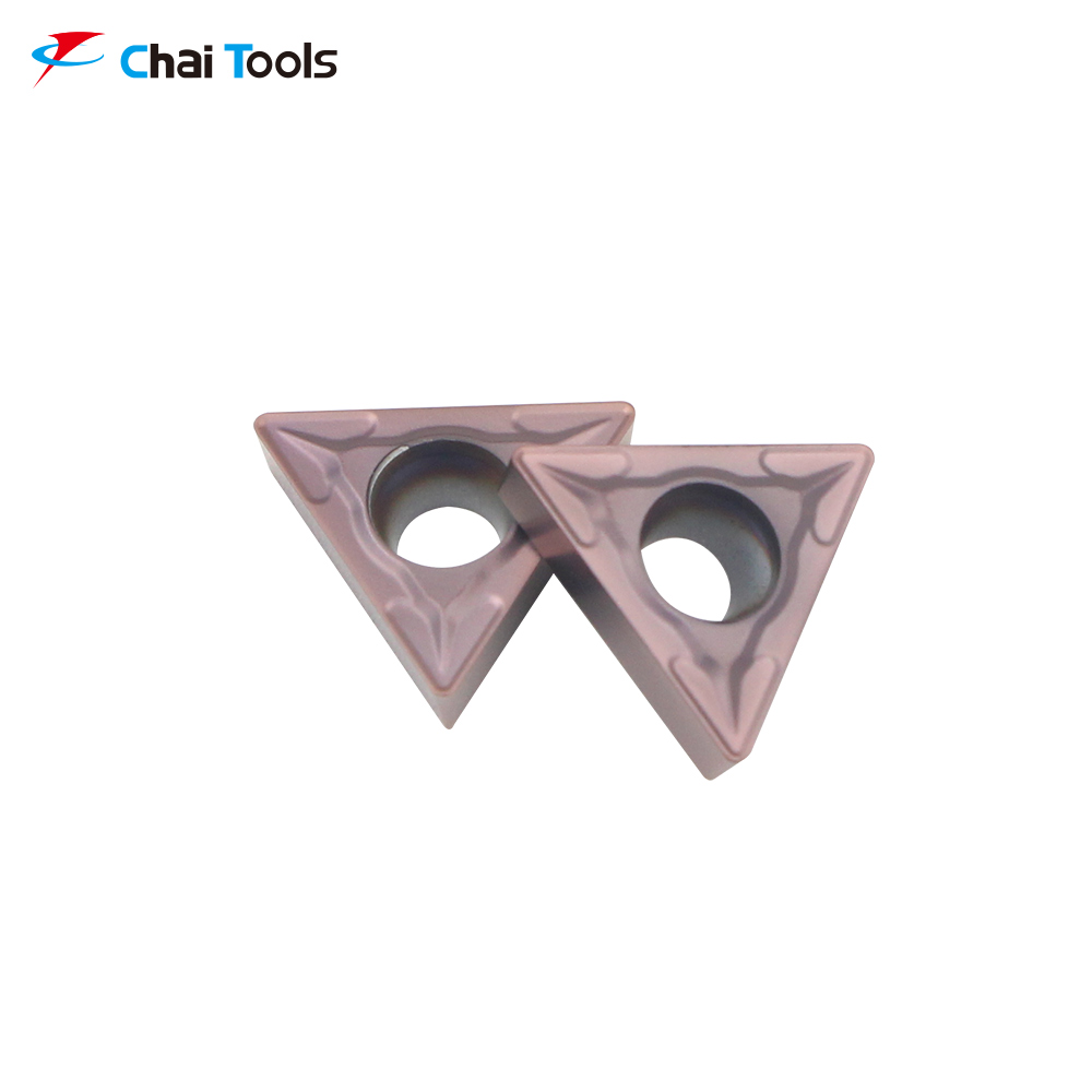 TCMT110204-GM CT8225 CNC Tungsten Carbide turning insert for stainless steel machining